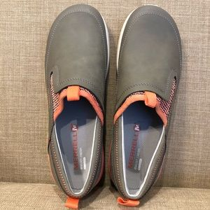 Merrell Shoes - New Merrell slip on leather walking shoes
